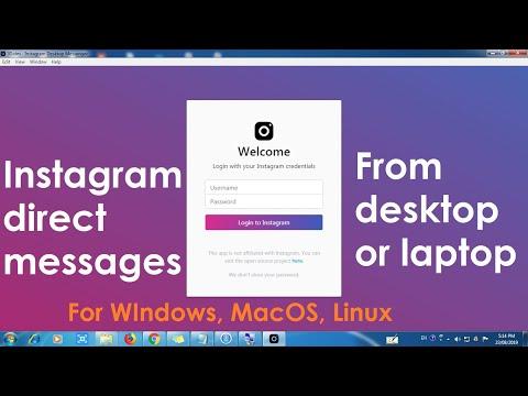 How to Read Instagram direct messages on desktop   Instagram DM   MRAVLOG