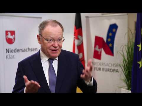 Europa - Ministerpräsident Stephan Weil