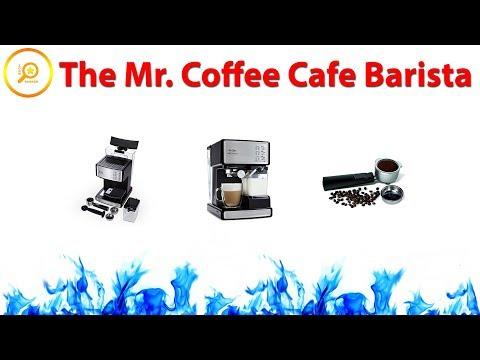 Mr. Coffee Cafe Barista - Espresso Maker ✅