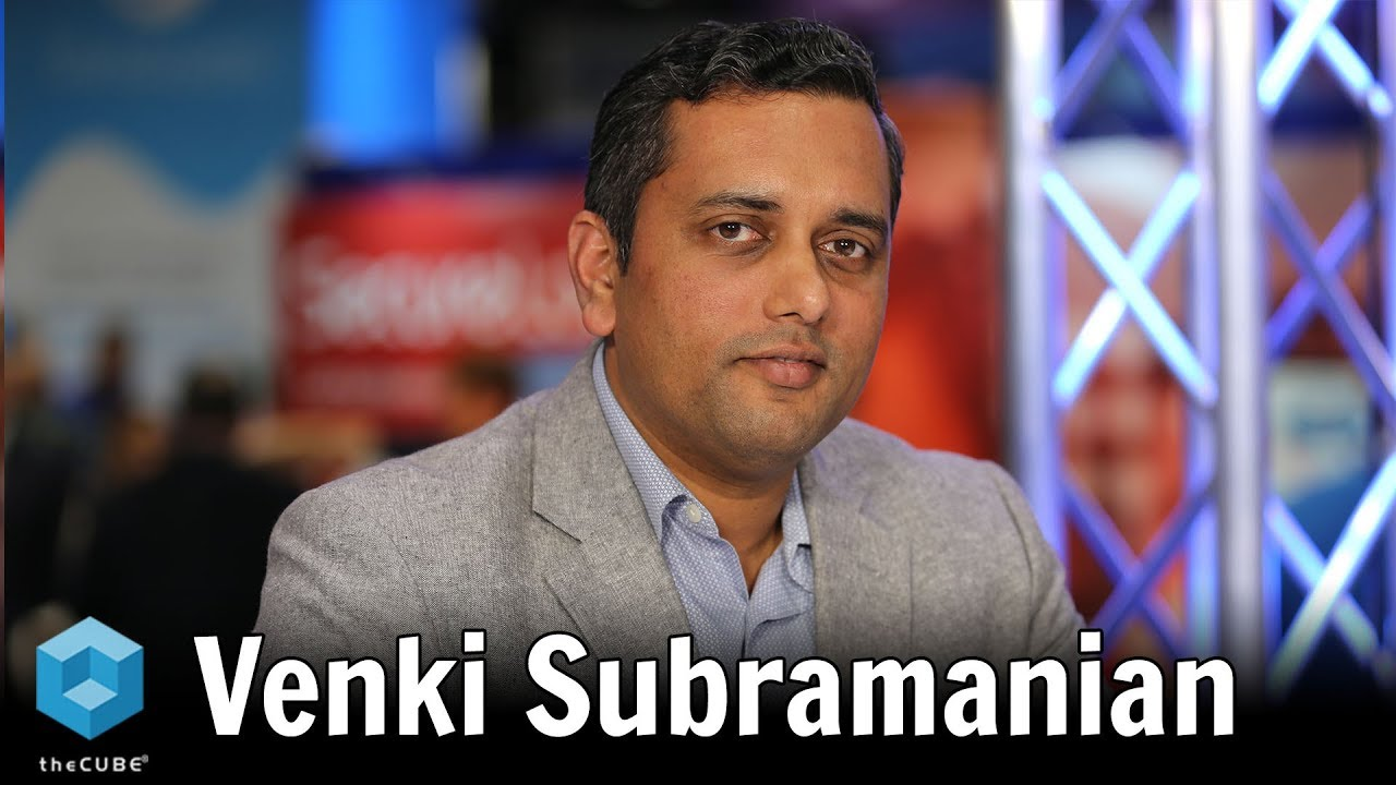 Venki Subramanian, ServiceNow   Enterprise Connect 2019