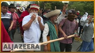 Ecuador protests erupt for sixth day over fuel subsidy cuts