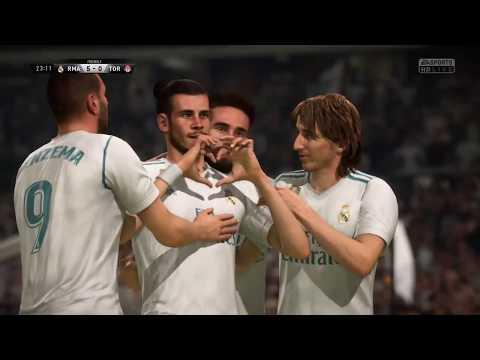 FIFA 18 players signature goal celebration