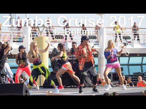 Zumba Cruise 2017 6. Bölüm | Beto Masterclass, Didem & Lindsey Masterclass, Shaggy Party