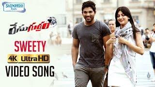 Race Gurram Video Songs 4K | Sweety Full Video Song | Allu Arjun | Shruti Haasan | Thaman S