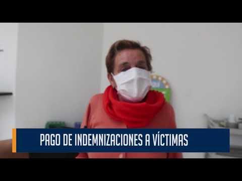 Pago de indemnizaciones a víctimas