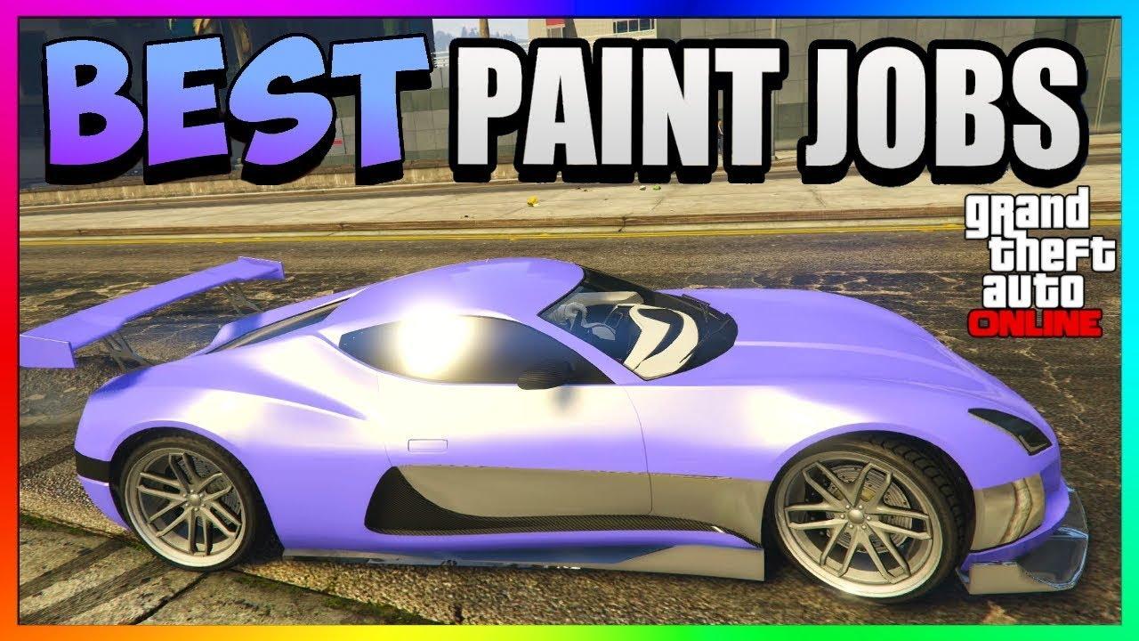 Gta 5 Online Coil Cyclone Best Rare Paint Jobs Sexy Car Color Schemes Gta 5 Paint Jobs 1 42