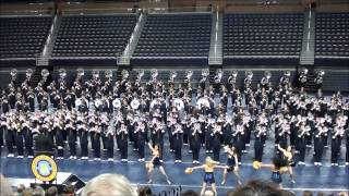 Eye of the Tiger - Michigan Marching Band 2012 @ Crisler Concert