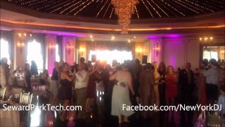 Greek and Mexican mixed Wedding at Terrace On The Park Seward Park Tech