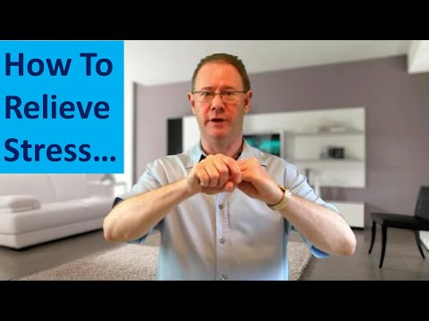 How To Relieve Stress - Crazy Fast Stress Relief. Easy Energy Therapy - Try It Now...