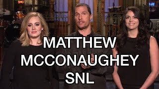 Matthew McConaughey SNL Opening Monologue: Dazed Confused Alright Alright Alright REVIEW