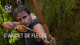 « D'arc et de flèche » ou les secrets de la fabrication d'arcs.