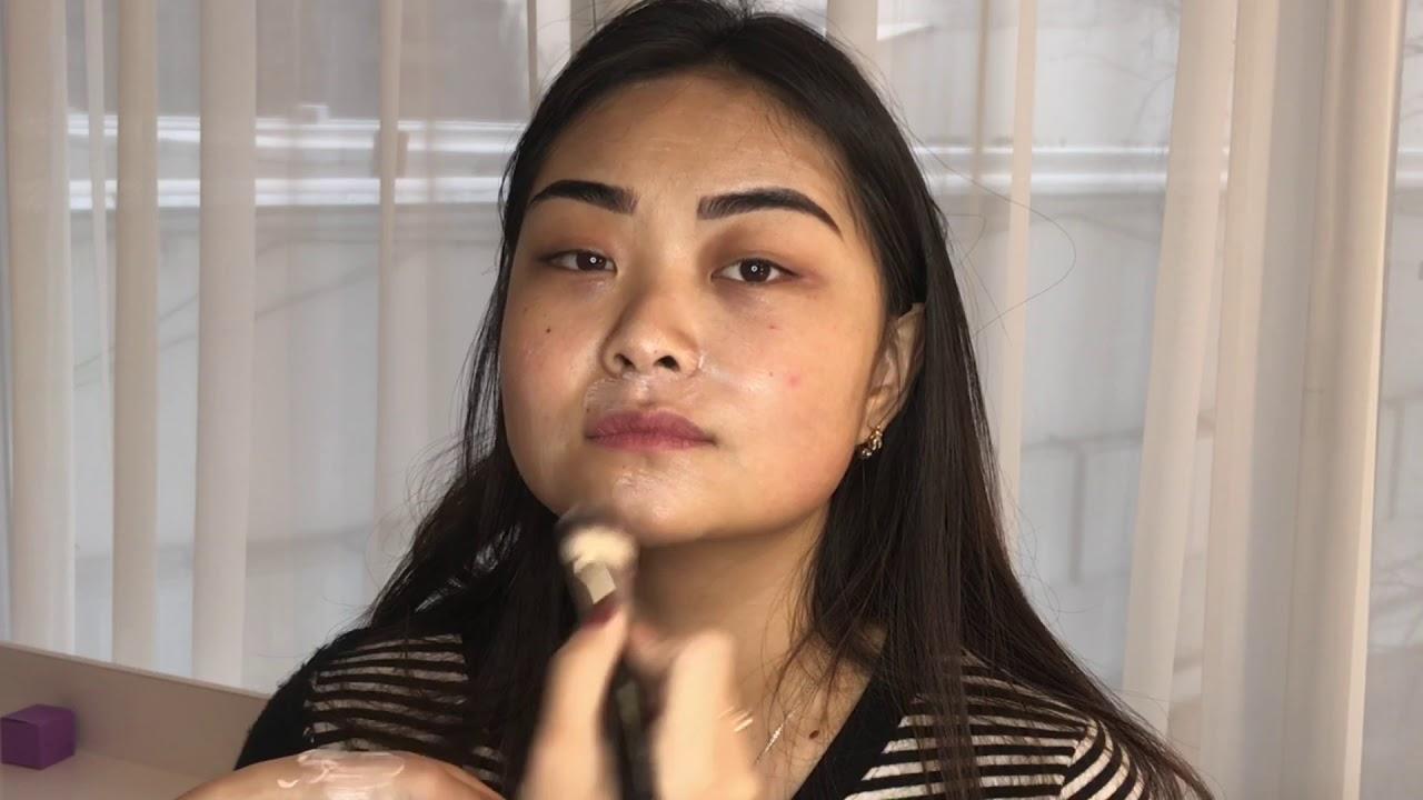 Дневной макияж с монотенями от Faberlic - YouTube