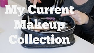 My Current Makeup Collection | What Didn