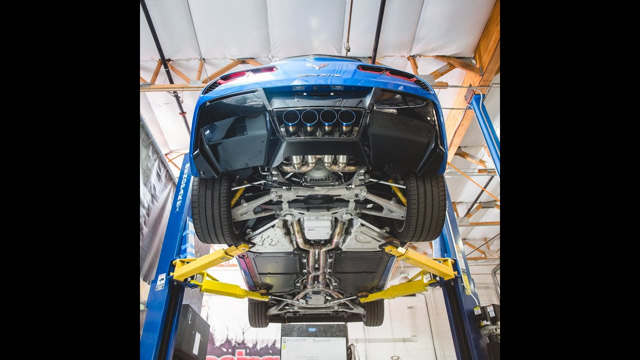 Chevrolet Corvette Stingray C7 w/ Agency Power Longtube Headers & Exhaust