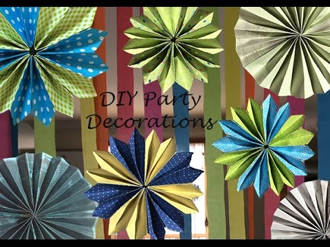 DIY Origami Party Decorations - YouTube - photo#38