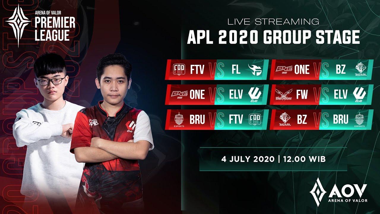 Bazzar Gaming vs Buriram United  - Group B - APL 2020