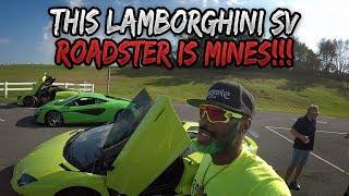 DRIVING MY DREAM CAR LAMBORGHINI SV ROADSTER
