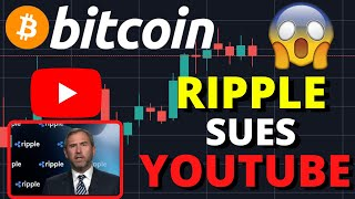 CRAZY NEWS!!!! RIPPLE SUES YOUTUBE FOR CRYPTO SCAMS!! POTENTIAL BITCOIN BREAKOUT BY NEXT WEEK?