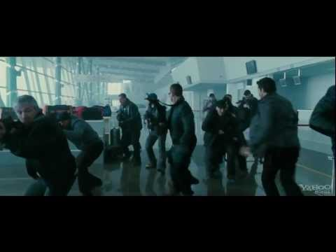 "Chuck Norris as Booker in ""The Expendables 2"" - Movie CLIP ""Airport"""