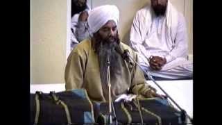 Sant Baba Dhanwant Singh Ji Gurdaaspur vale @ Gurswara El Sobrante Ca 5-29-99