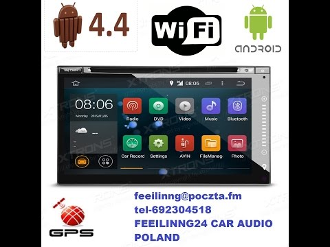 FEEILINNG24 Car Audio Android 4.4 Quad core 6.95 cala from YouTube · Duration:  8 minutes 7 seconds