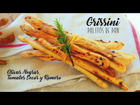 GRISSINI / Grisines / Palitos de Pan