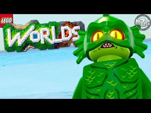 Awesome Swamp Monster! - LEGO Worlds Gameplay - Episode 6