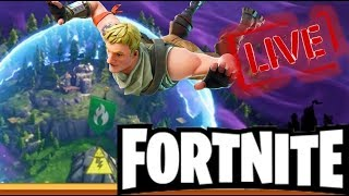 FORTNITE'S LIVE!!! SUBSCRIBERS, COME PLAY WITH US!!!
