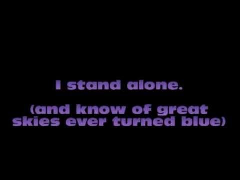 Theophilus London - I Stand Alone Lyrics