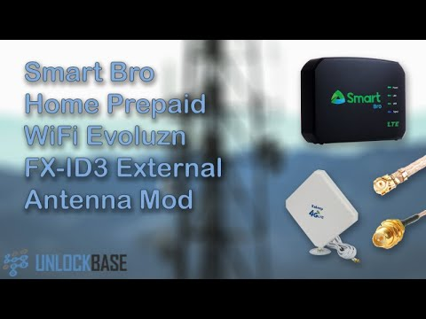 Smart Bro Home Prepaid WiFi Evoluzn FX ID3 External Antenna Mod