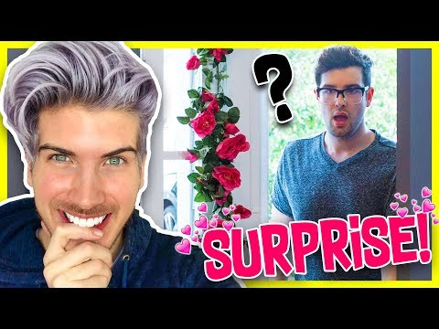 SURPRISING MY BOYFRIEND BEFORE VALENTINES DAY!
