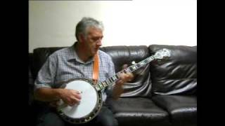 Bluegrass banjo, Somewhere over the Rainbow,by Jim Hyndman