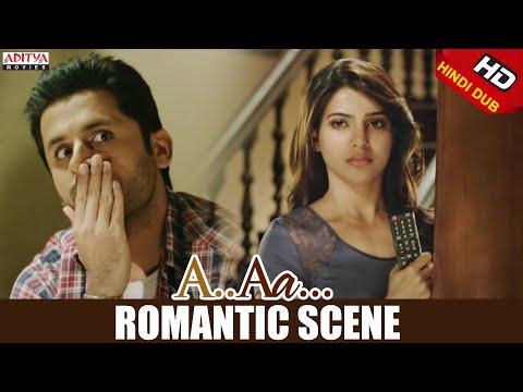 A Aa Scenes || Nithiin Samantha Romantic...