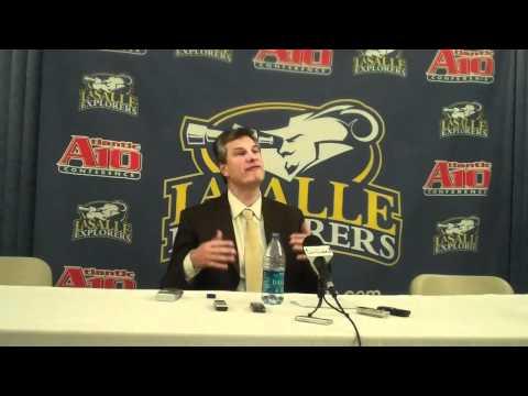La Salle Postgame Press Conference vs. Penn - Dr. ...