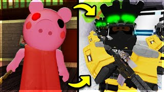 Playing MiniToon's FIRST ROBLOX GAME! (Before Piggy)