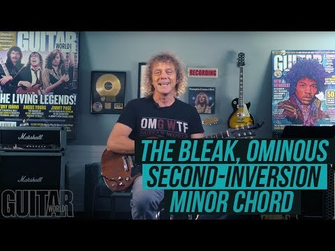 The Bleak, Ominous Second-Inversion Minor Chord with Jimmy Brown