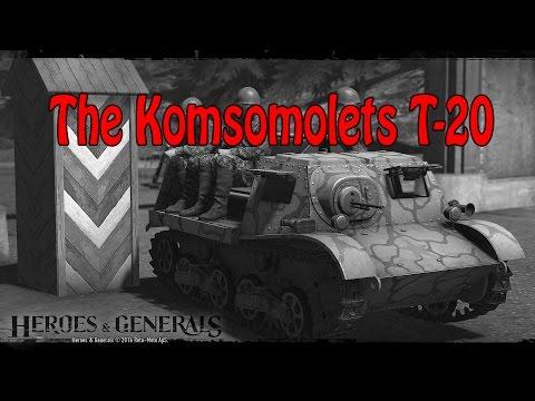 Testing Komsomolets ((Heroes and Generals))