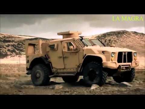 Oshkosh Tactical Vehicle New Humvee - Demonstration