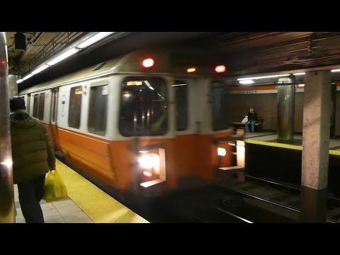 ボストン地下鉄オレンジライン ヘイマーケット駅 MBTA Orange Line Haymarket Station