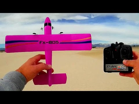 FX805 Flybear the World's Cheapest and Easiest RC Airplanes
