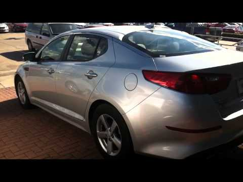 New 2014 Kia Optima. LX GDI Silver - YouTube