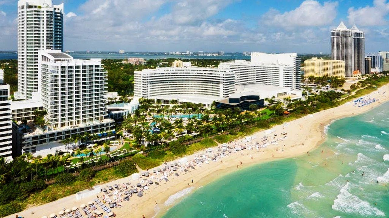 Miami Hotels Right On The Beach