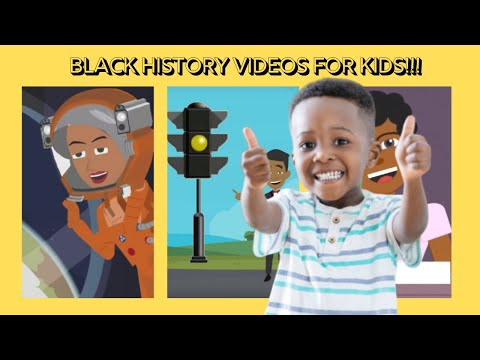 Black History Videos For Kids: Notable Black Figures In History For Pre-K Through Elementary.