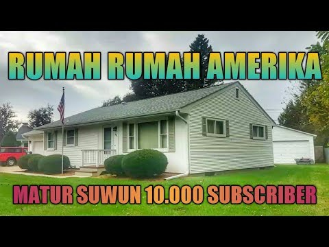 SUASANA RUMAH RUMAH di AMERIKA+AKU KESASAR !! MATUR SUWUN 10ribu SUBSCRIBER
