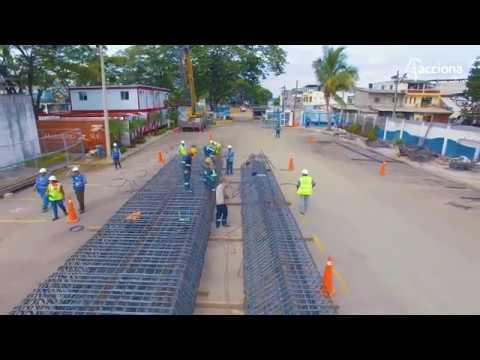 Construcción de la Estación de Bombeo La Pradera en Guayaquil, Ecuador | ACCIONA