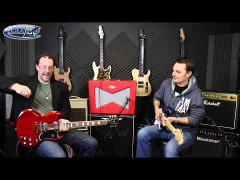 Fender Pawn Shop Vaporizer Amp Demo