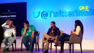 Catch all the fun with Baba Sehgal, Tanmay Bhat and José Covaco at #RisewithTwitter