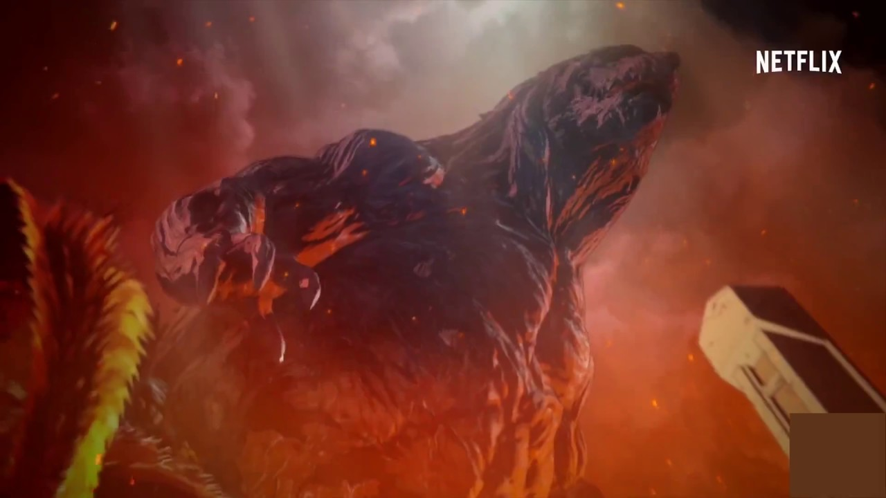 Download Godzilla: Monster Planet Final Trailer (2018) Godzilla Anime Movie