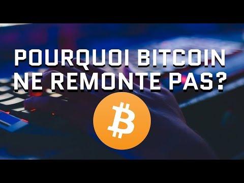Pourquoi Bitcoin Ne Remonte Pas? La Stagnation Du Marché Des Cryptomonnaies Continue