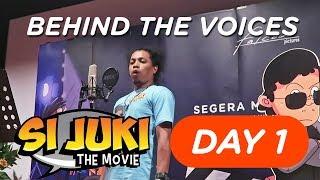 PAK DE INDRO NGAKAK MULU – #BehindtheVoices SI JUKI THE MOVIE Day 1